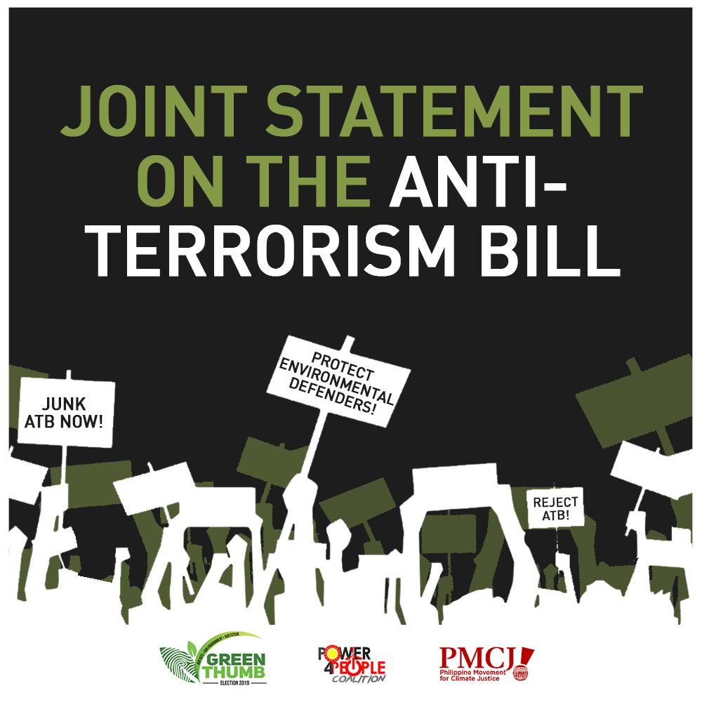 Joint Statement on the Anti-Terrorism Bill