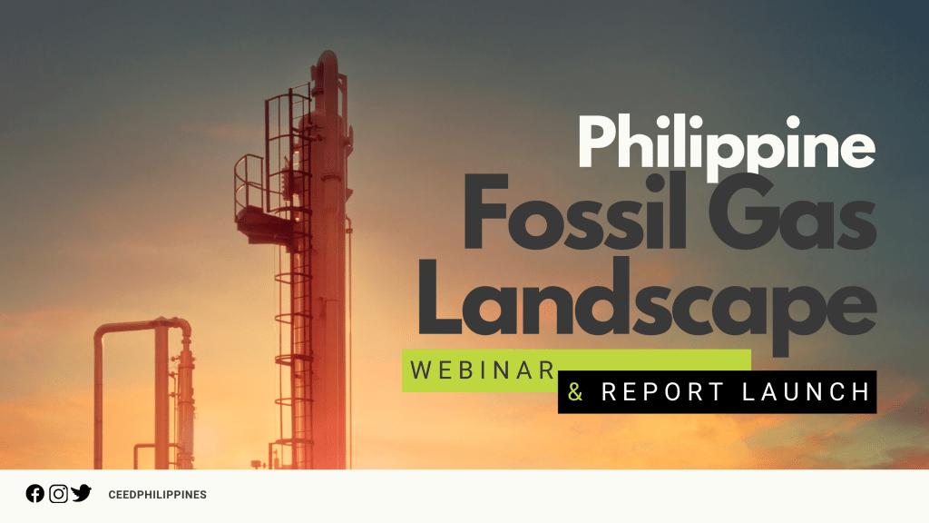 Report: Philippine fossil gas landscape